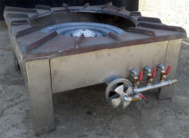 اجاق پلوپز چهار شعله کوره دار