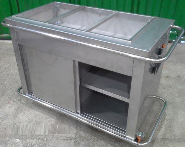 ترولی حمل غذای گرم