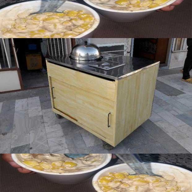 دستگاه بخارپز میز ذرت مکزیکی