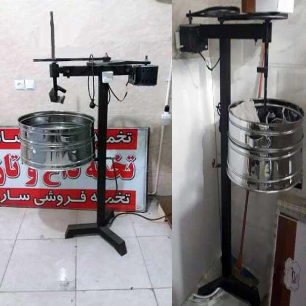 دستگاه تخمه داغ فروشی