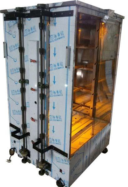 دستگاه مرغ گردان 12سیخ بانور و شیشه