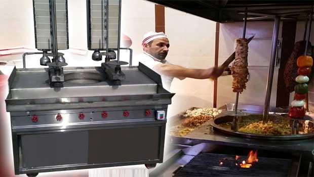 دستگاه کباب ترکی 4 سیخه