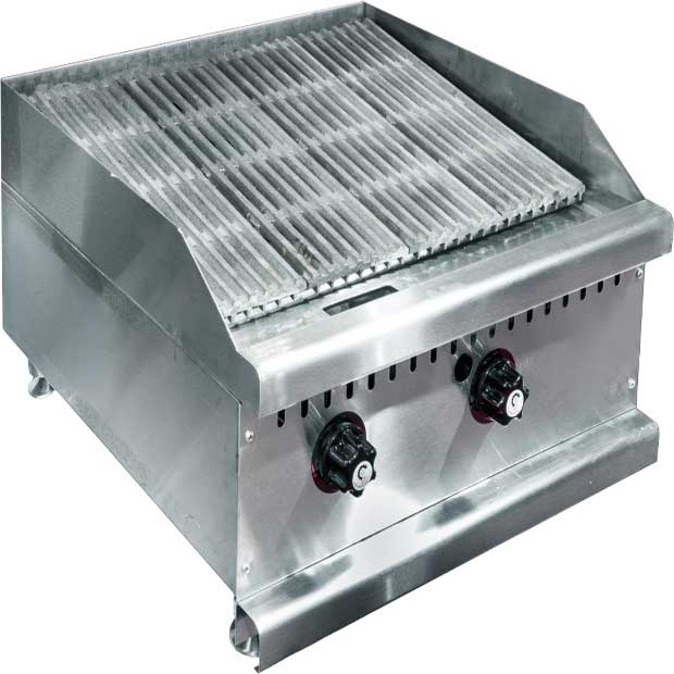 دستگاه گریل ذغالی مشبک چدنی استیل
