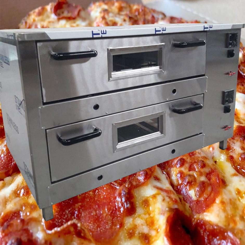 فر پیتزا اتوماتیک دوطبقه
