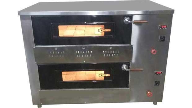 فرپیتزا 24 بشقاب طرح ایتالیایی دو طبقه درجه الکترونیکی