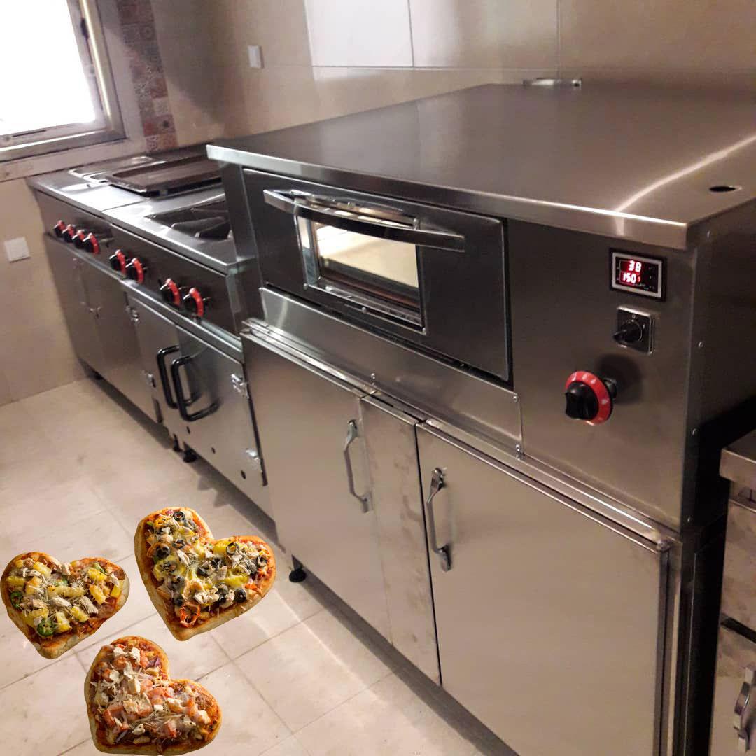 فر پیتزا اتوماتیک