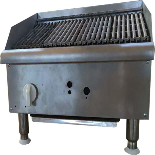 گریل ذغالی همبرگر زغالی رومیزی