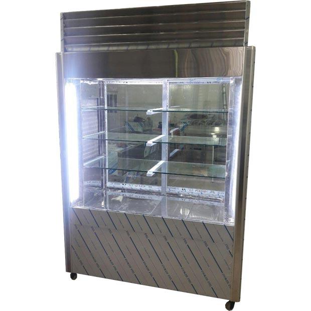 یخچال رستورانی تمام استیل 4 درب کشویی